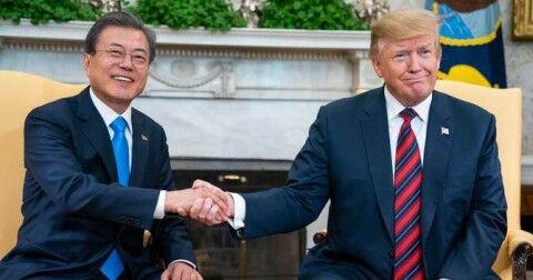 バ韓国文大統領を心底毛嫌いしているトランプ大統領