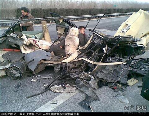 わずかな接触で大破するのが韓国製の車www
