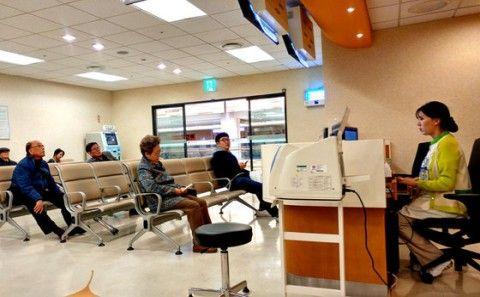 バ韓国塵の年間診療回数はOECDで最多