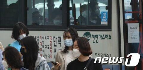 マスクを着けても不細工なバ韓国塵ども
