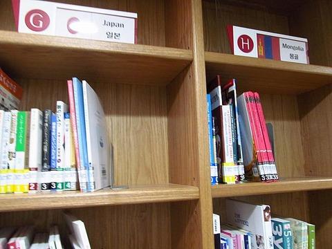 なんともみすぼらしいソウルの図書館
