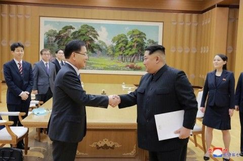 北朝鮮の言いなりになるしかないバ韓国