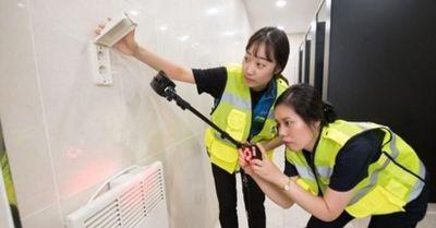 盗撮行為が日常化しているバ韓国