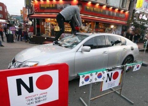車ではなくバ韓国塵をぶっロコしたい