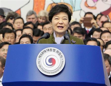 バ韓国最強のキチガイ・パククネ婆