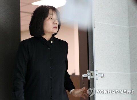 記者に逆切れしたバ韓国の尹美香