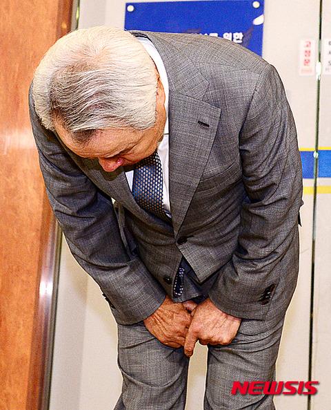 警備員に暴行を働いたバ韓国ピザチェーンの会長