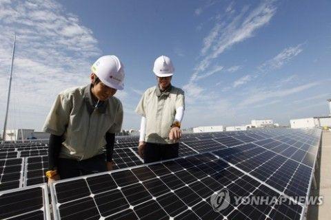 バ韓国製太陽光パネルはすぐに爆発しそう