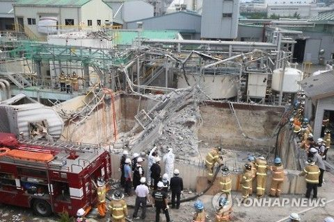 バ韓国の軍需企業で爆発事故