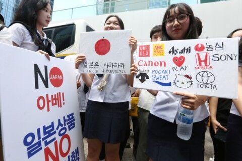 低能バ韓国塵に長期間の不買運動は無理ゲー