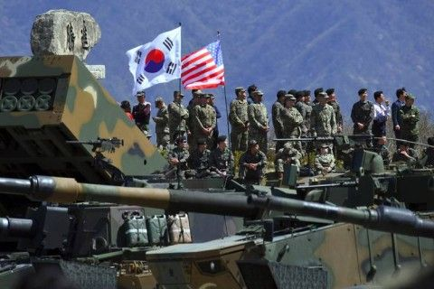 米韓合同軍事演習の中止で北チョンだけが大喜び
