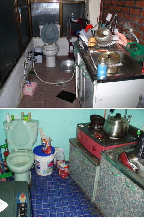 便所と台所が一緒! まさに糞味噌状態のバ韓国wwww