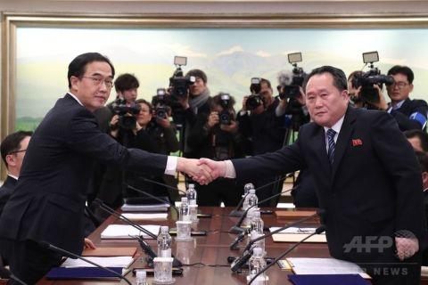 北チョンの五輪参加で崩壊が早まったバ韓国wwww