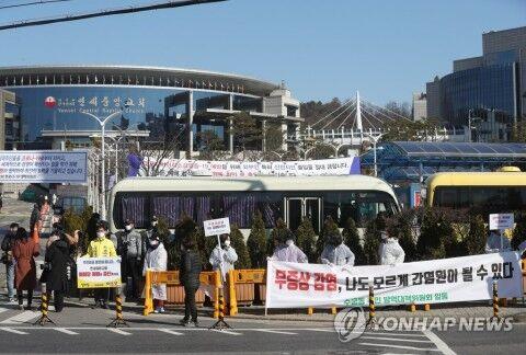 勧告を無視して礼拝を強行する。それがバ韓国のカルト宗教