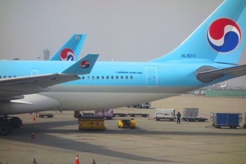 大韓航空機内でiPhone5Sが突然発火?