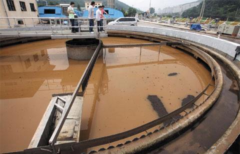 ソウル付近の一般的な浄水場