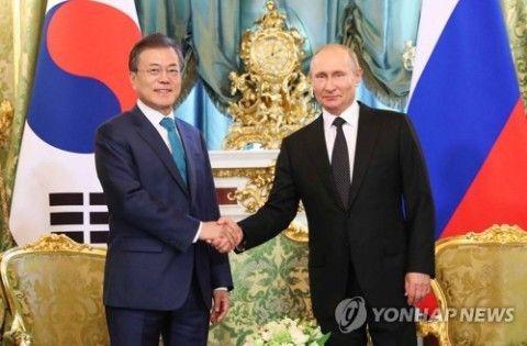 バ韓国塵をヒト扱いしない態度が御立派なプーチン