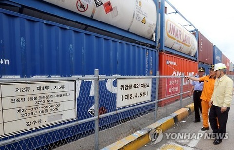 次は釜山港の大爆発に期待!