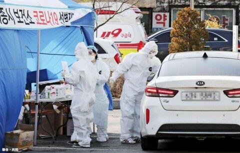 バ韓国・精神病棟患者の99パーセントが新型コロナに感染