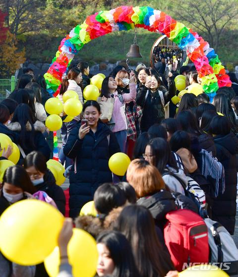受験前日にイベント参加するバ韓国塵ども