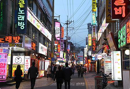 バ韓国には自称創業100年を自称する飲食店が多そう
