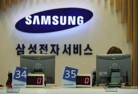 バ韓国のサムスン、各分野でシェアが激減