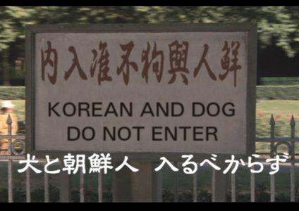 こんな看板、犬に失礼です!