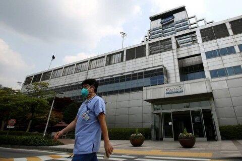 新型コロナ集団感染が発覚したバ韓国・サムスンソウル病院