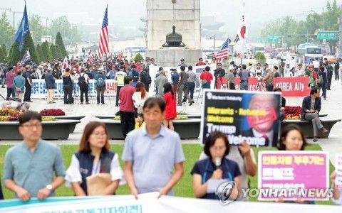 アメリカを敵視するキチガイバ韓国塵