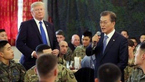米国からも嫌われているバ韓国文大統領