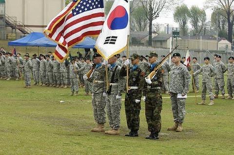 在韓アメリカ軍の撤退が待たれます