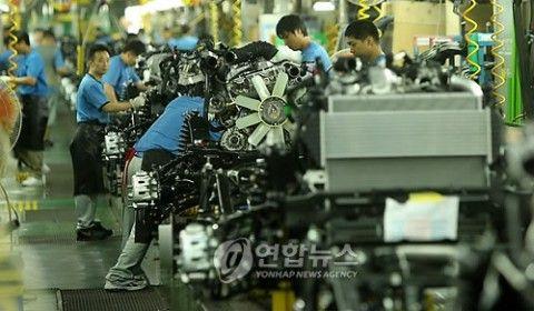 復活不可能となったバ韓国の製造業