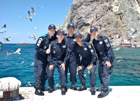 カナヅチだらけのバ韓国海洋警察