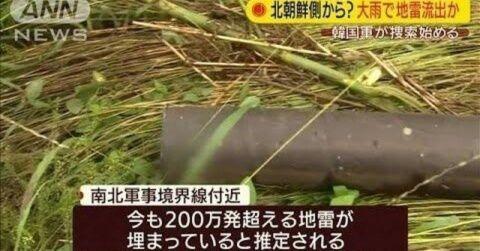 地雷でバ韓国塵や北チョンが死ぬのは大歓迎