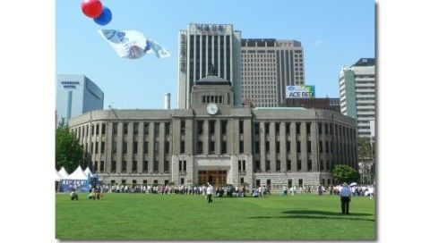 日本製品を駆逐しようとしているバ韓国のソウル市庁