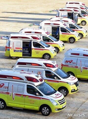 救急隊員によってウイルス感染が拡大する。それがバ韓国