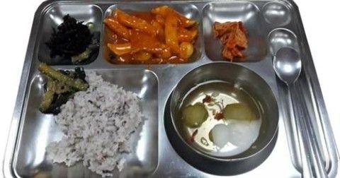 バ韓国の消防士の食事