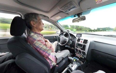 世界初の自動運転車を主張するバ韓国のキチガイ