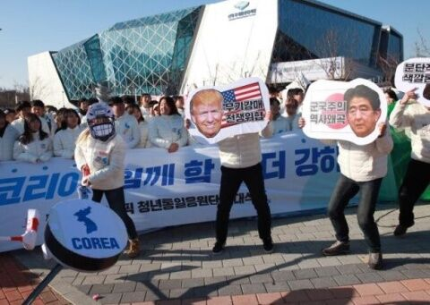 反米反日しかやることがないバ韓国塵ども