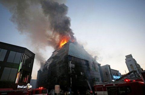 バ韓国塵に防火という概念は皆無
