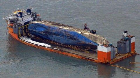 セウォル号を引き揚げた中国の上海サルベージ