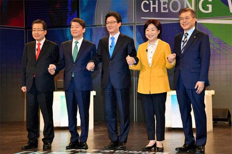 反日キチガイだらけのバ韓国次期大統領候補