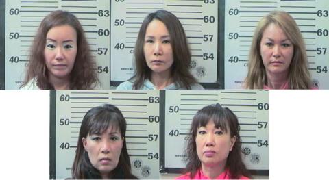 米国・アラバマ州で捕まった屑チョン売春婦5匹