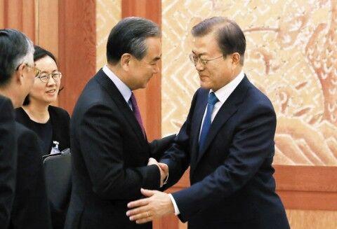 中国の外圧に怯えるバ韓国政府