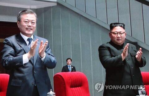 北朝鮮の下僕と化しているバ韓国・文在寅