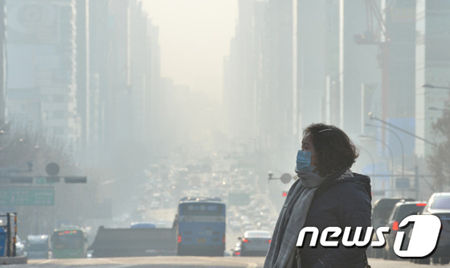 ソウルの大気汚染はまさに地獄レベル