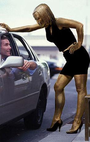 売春婦のお仕事風景