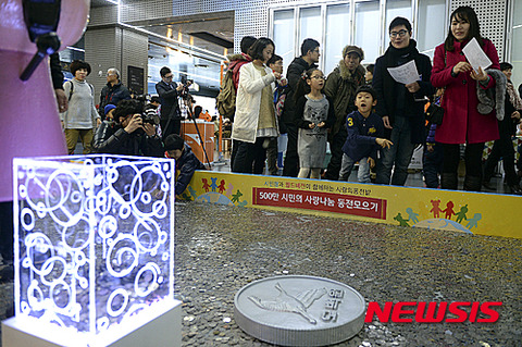関係者の懐に飲まれるのがバ韓国の募金活動