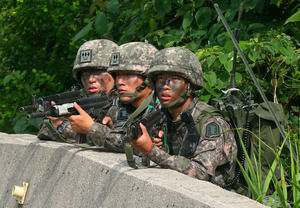 自称世界3~4位の実力を持つバ韓国陸軍