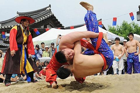 韓国相撲の「シルム」
